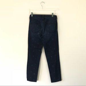 NYDJ Jeans - NYDJ Star Print Ankle Cut Skinny Jeans Size 4